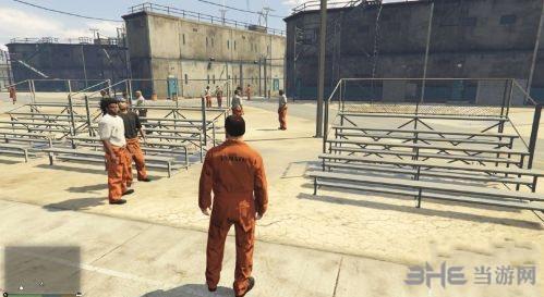 侠盗猎车手5被抓后进入监狱MOD截图0