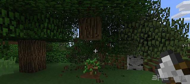 我的世界v1.9.4一键砍树铁斧头MOD截图2