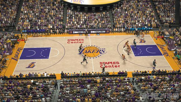 NBA2K17斯台普斯球场美化补丁截图0