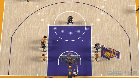 NBA2K17斯台普斯球场美化补丁截图1