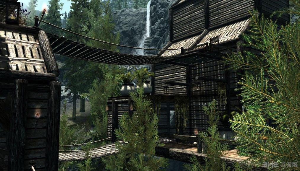 上古卷轴5:天际重制版森林小屋MOD截图0
