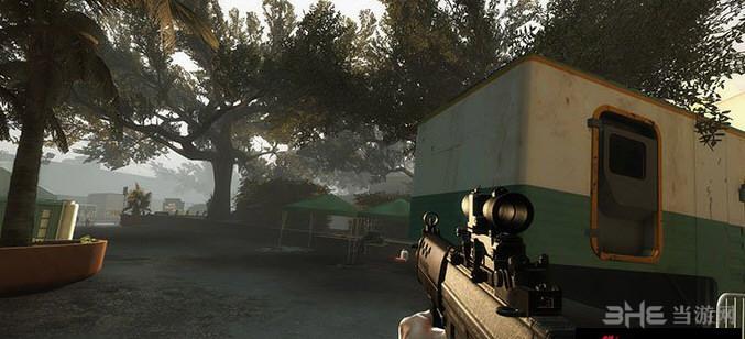 求生之路2新SIG SG552短突击步枪MOD截图1