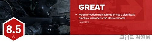 使命召唤4现代战争重制版IGN评分截图