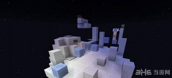我的世界1.10.2基础高空跳跑酷地图MOD截图2