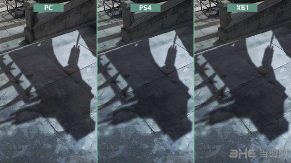 耻辱2各平台画质对比截图2
