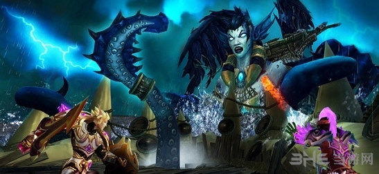 魔兽世界7.1勇气试炼海拉截图1