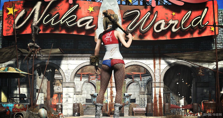 辐射4小丑女哈莉奎茵套装MOD截图3