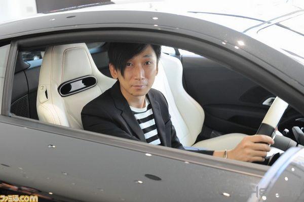 《最终幻想15》特别版奥迪r8图片欣赏 试驾者这cos我服