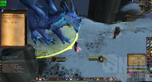 魔兽世界狂徒贼风剑外观截图3