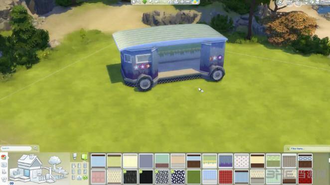 模拟人生4房车速建视频教学