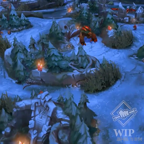 LOL英雄联盟冬季地图截图2