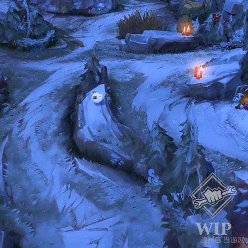LOL英雄联盟冬季地图截图1