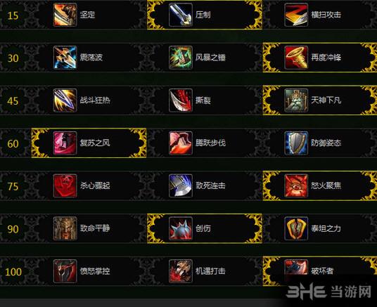 魔兽世界7.1武器战天赋加点攻略截图1
