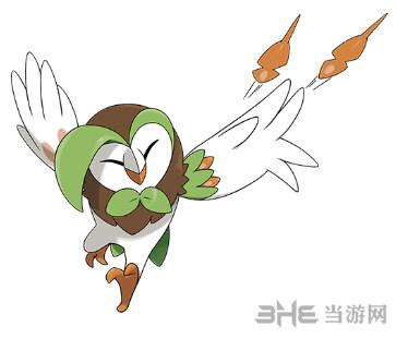 精灵宝可梦投羽枭图鉴2