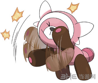 精灵宝可梦太阳月亮童偶熊2