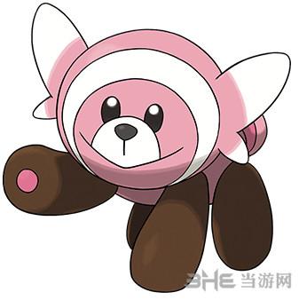 精灵宝可梦太阳月亮童偶熊1