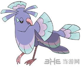 精灵宝可梦太阳月亮花舞鸟图片5
