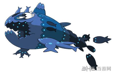精灵宝可梦太阳月亮弱丁鱼图片2
