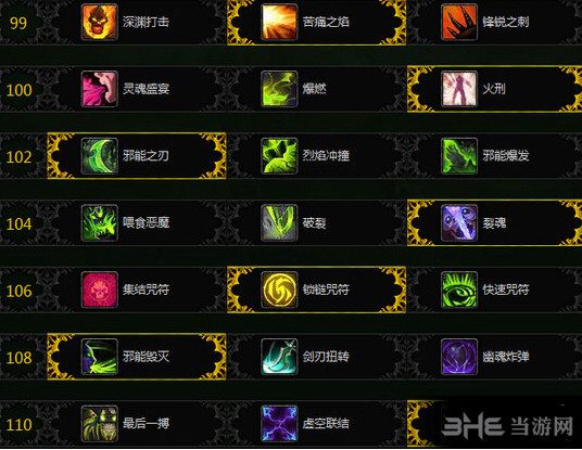 魔兽世界复仇DH天赋截图1