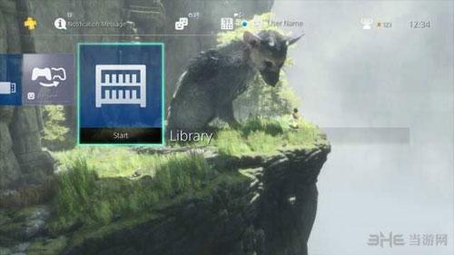 最后的守护者PS4主题