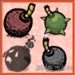 饥荒:联机版更多有趣的炸弹MOD截图0