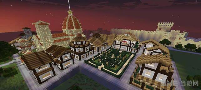 我的世界1.7.10一时兴起建的小镇地图截图0