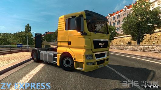 欧洲卡车模拟2 v1.25.xMAN卡车低底盘MOD截图0
