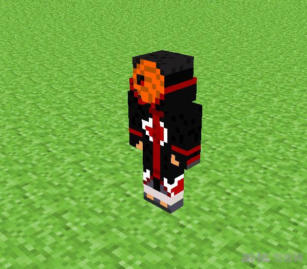 我的世界火影忍者宇智波带土皮肤截图1