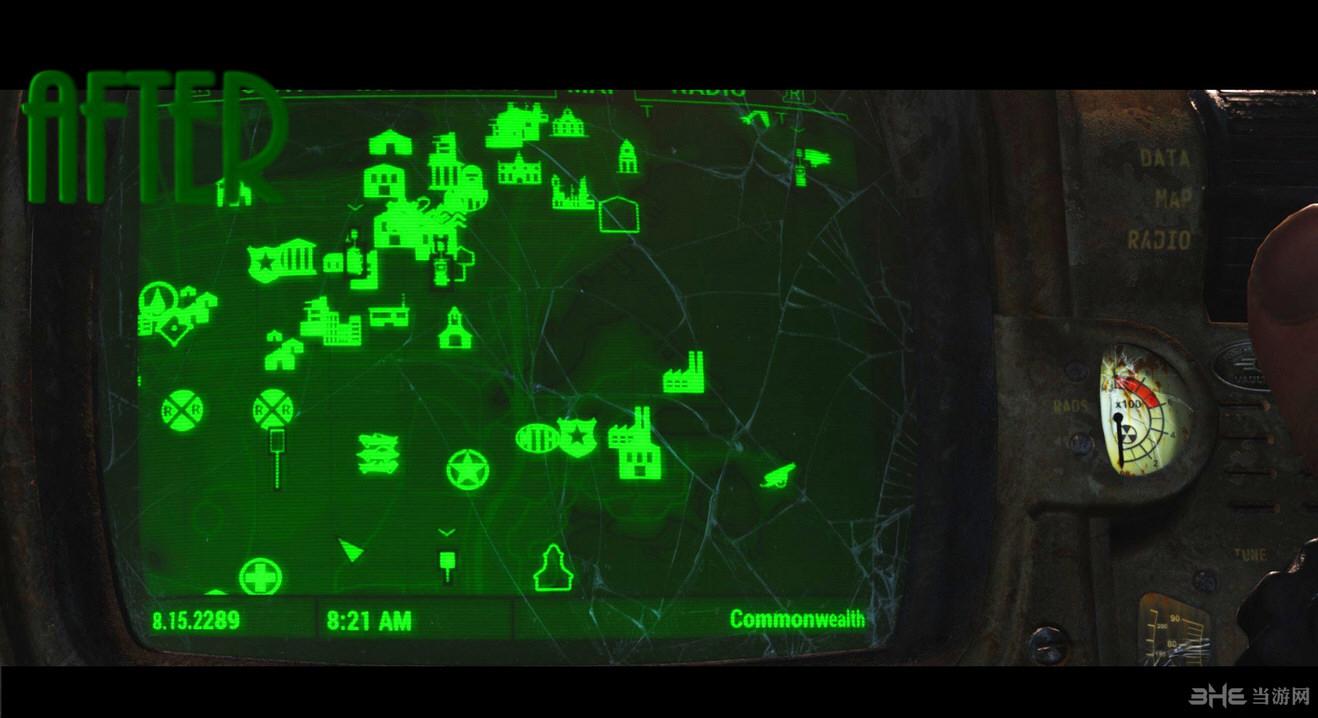 辐射4更好的地图标记MOD截图0
