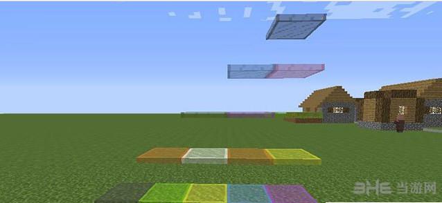 我的世界1.7.2可平放的玻璃板MOD截图2