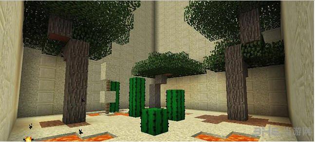 我的世界1.10.2岩浆炉跑酷地图截图2
