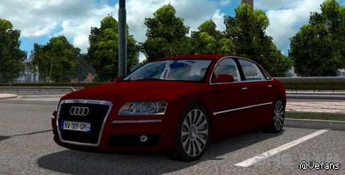 欧洲卡车模拟2 v1.25奥迪A8MOD截图0