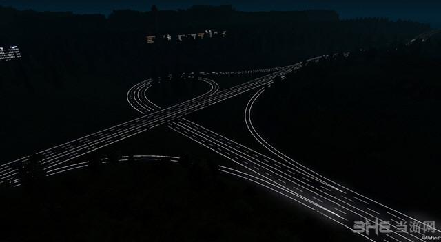 欧洲卡车模拟2 v1.25.3道路反光MOD截图2
