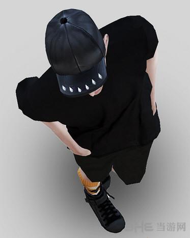 模拟人生4黑色棒球帽MOD截图1