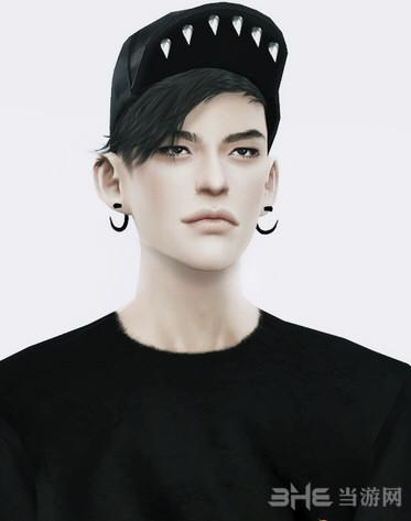 模拟人生4黑色棒球帽MOD截图2