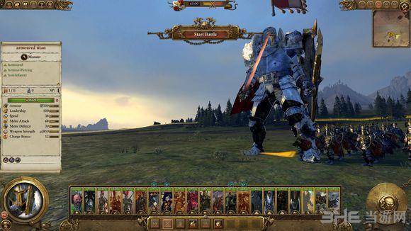 全面战争:战锤帝国巨人兵种MOD截图1