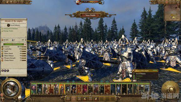 全面战争:战锤帝国巨人兵种MOD截图3