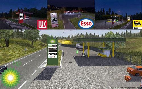 欧洲卡车模拟2 v1.26x真实油站公司MOD截图0