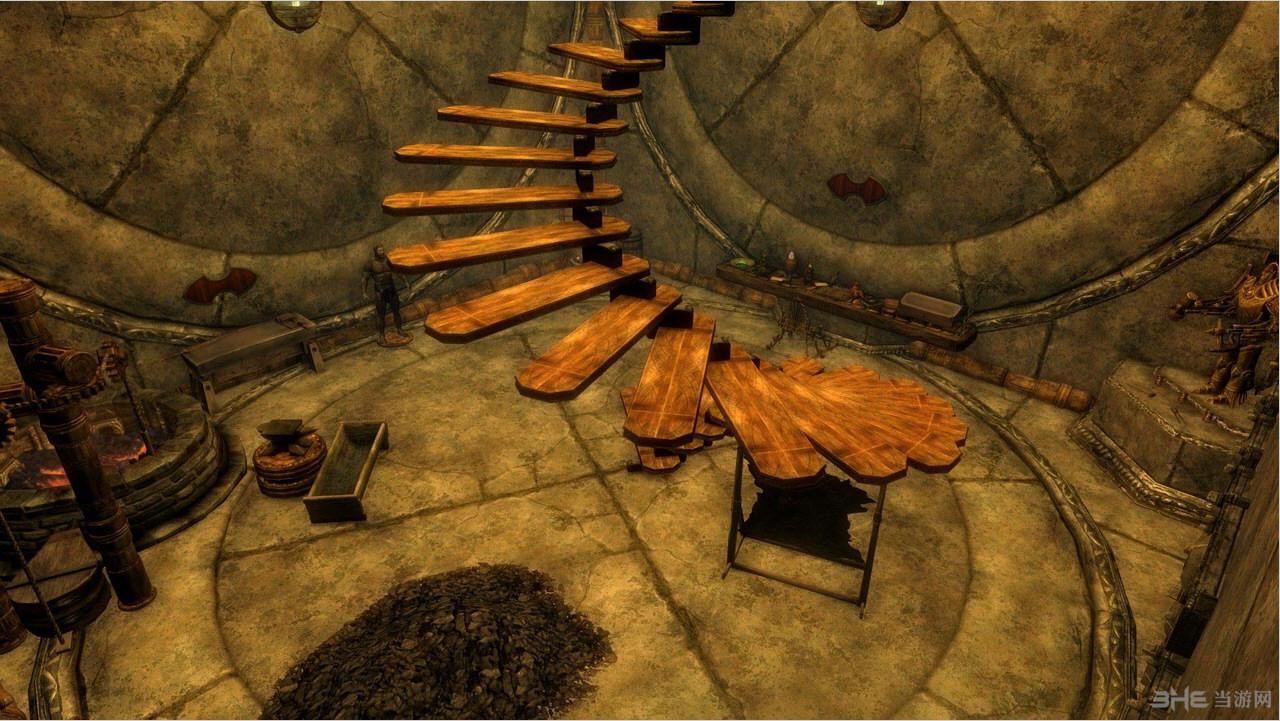 上古卷轴5:天际重制版矮人魔方便携房屋MOD截图1