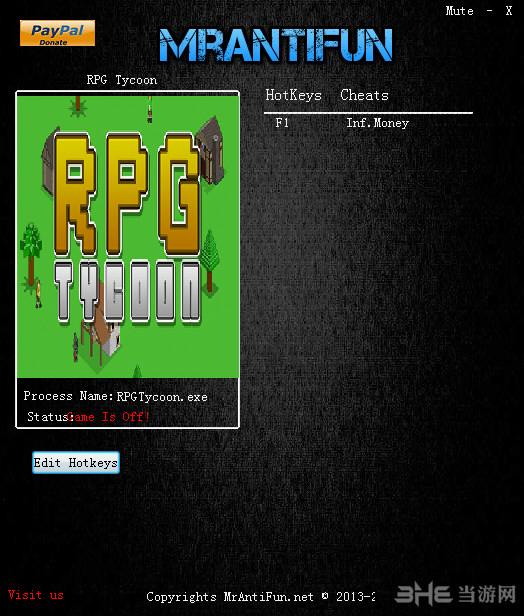 RPG大亨一项修改器截图0