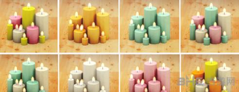 模拟人生4糖果色蜡烛MOD截图1
