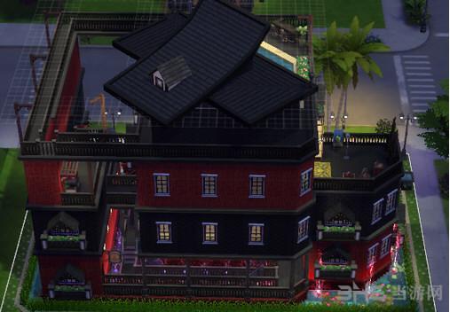 模拟人生4绚丽的小栋别墅MOD截图0