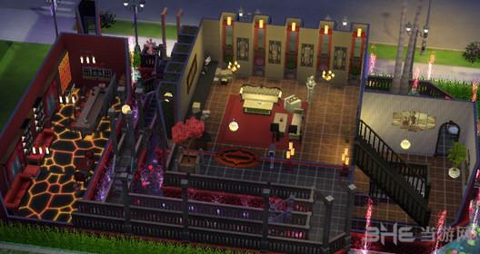 模拟人生4绚丽的小栋别墅MOD截图2