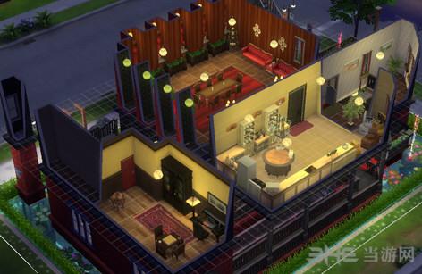 模拟人生4绚丽的小栋别墅MOD截图1