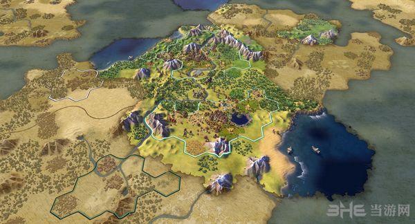 文明6中国全宗主国加成MOD截图0