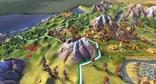 文明6全文明全领袖特性全城邦特性MOD截图0