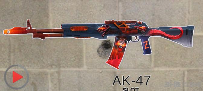 求生之路2地狱烈焰AK47突击枪MOD截图0