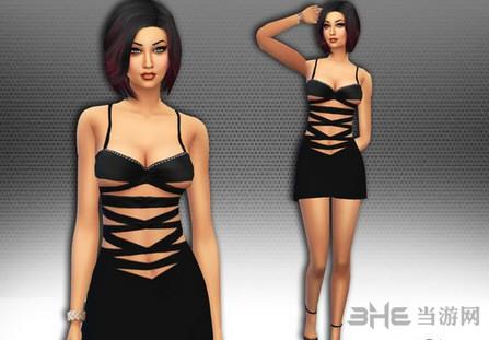 模拟人生4性感吊带裙MOD截图0
