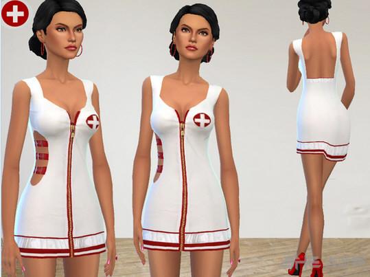 模拟人生4护士制服MOD截图1