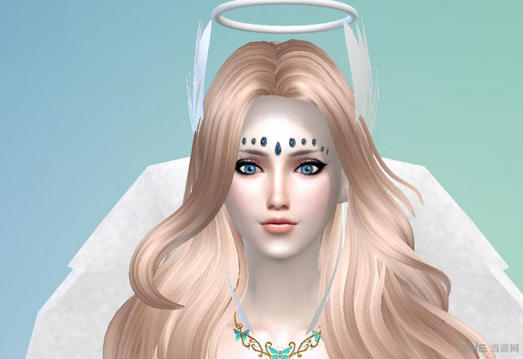 模拟人生4洁白双翼天使人物MOD截图0